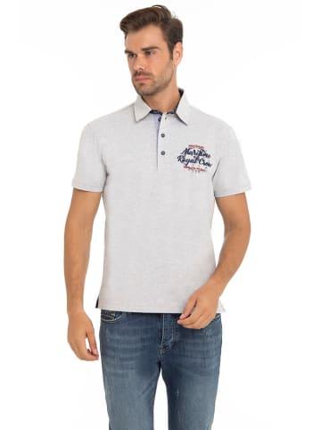 CULTURE Koszulka polo w kolorze jasnoszarym