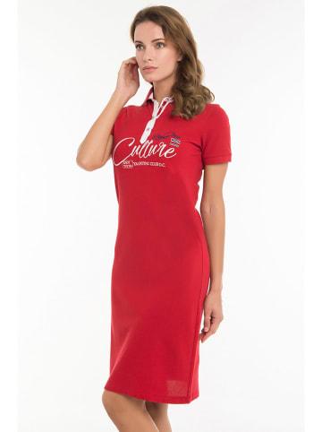 CULTURE Sukienka w kolorze czerwonym