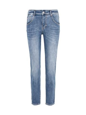 CULTURE Spodnie w kolorze niebieskim