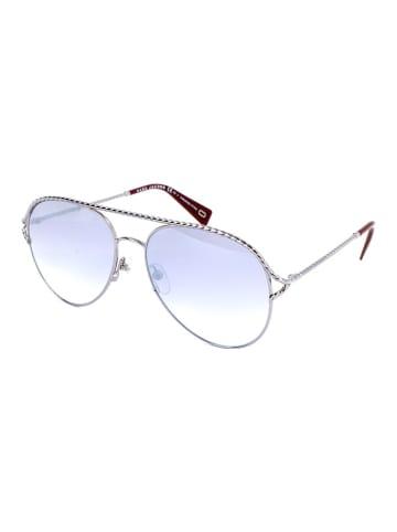 Marc Jacobs Damskie okulary przeciwsłoneczne w kolorze fioletowo-srebrnym