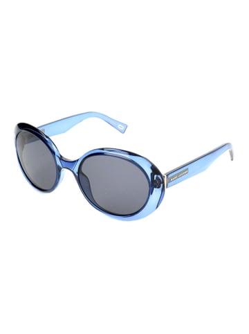 Marc Jacobs Damskie okulary przeciwsłoneczne w kolorze szaro-niebieskim