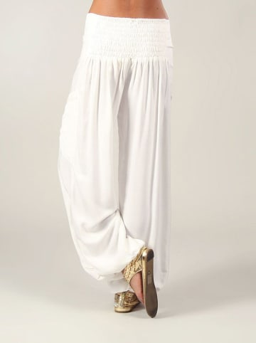Aller Simplement Spodnie w kolorze białym