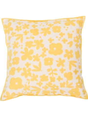 "David Fussenegger Poszewka ""Luca"" w kolorze żółtym na poduszkę"