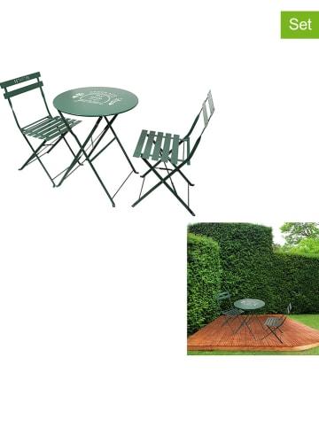 Garden Spirit 3-delige set: tuinmeubels groen