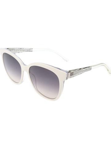 Hugo Boss Damen-Sonnenbrille in Creme/ Grau