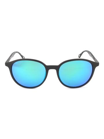 Hugo Boss Herenzonnebril zwart-grijs/blauw