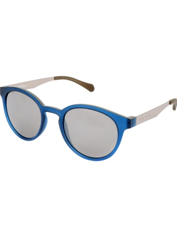 Hugo Boss Damen-Sonnenbrille in Blau-Beige/ Grau