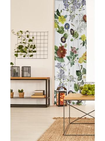 """Madre Selva Vorhang """"Spring Flowers"""" in Bunt - (L)270 x (B)140 cm"""