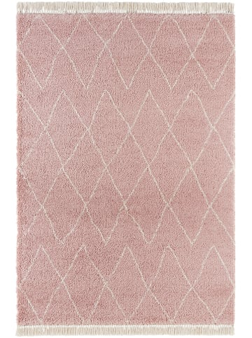 """Mint Rugs Hochflor-Teppich """"Jade"""" in Rosa"""