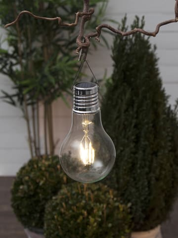"Best Season LED-Solardekoleuchte ""Fille"" in Transparent - (B)10 x (H)18 cm"