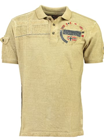 "Geographical Norway Poloshirt ""Kinflat"" beige"