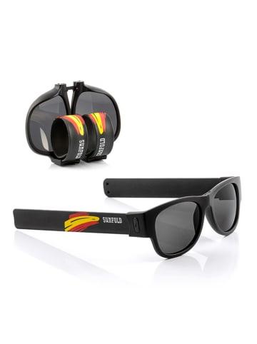 """InnovaGoods Zwijane okulary przeciwsłoneczne """"Spain"""" w kolorze czarnym"""