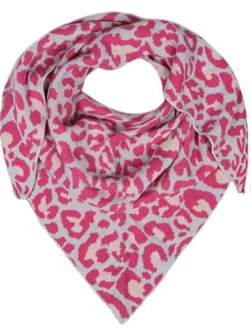 Zwillingsherz Tuch in Pink - (L) 150 x (B) 120 cm
