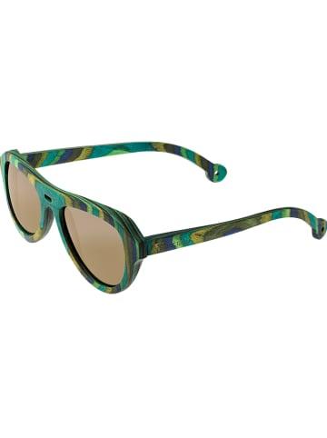 """Spectrum Herenzonnebril """"Lopez"""" groen/goudkleurig"""