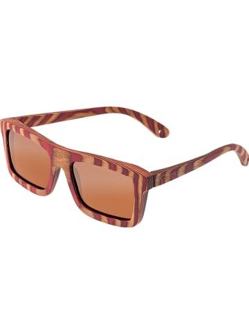 Spectrum Unisex-Sonnenbrille in Braun