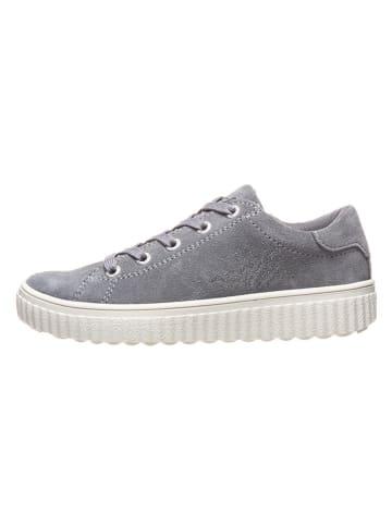 """Lurchi Leren sneakers """"Nira"""" grijs"""
