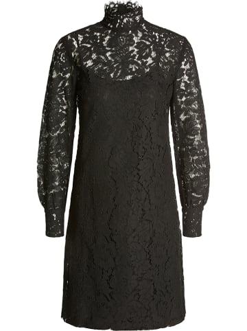 Oui Kleid in Schwarz