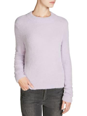 Oui Sweter w kolorze fioletowym