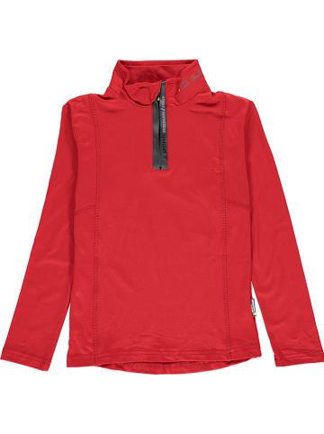 Peak Mountain Koszulka funkcyjna w kolorze czerwonym
