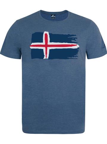 """Westfjord Koszulka """"Hekla"""" w kolorze niebieskim"""