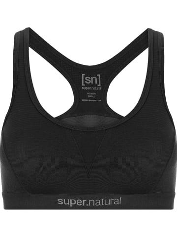 """Super.natural Sport-BH """"Semplice"""" in Schwarz - Medium"""