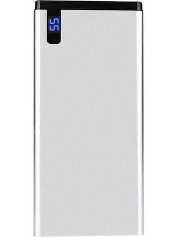 SmartCase Powerbank zilverkleurig - 10.000 mAh