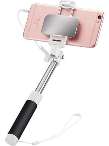 SmartCase Selfie-Stick w kolorze czarno-srebrnym