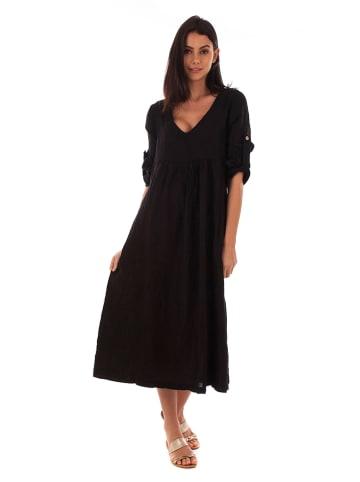 Lin Passion Linnen jurk zwart