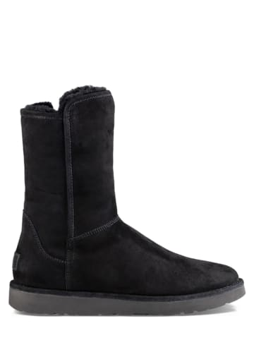 "UGG Lammfell-Winterstiefel ""Abree Short II"" in Schwarz"