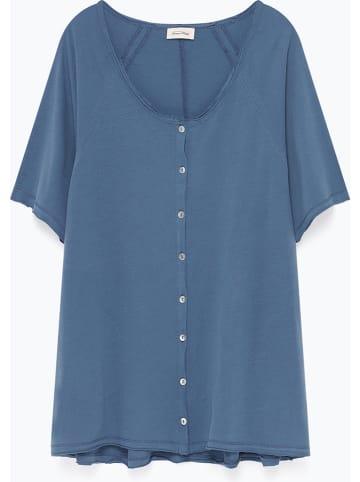"""American Vintage Koszulka """"Camiliday"""" w kolorze niebieskim"""