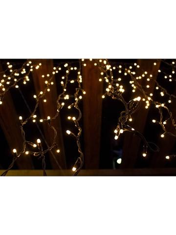 """Lumisky Solarna girlanda LED """"Yogy"""" w kolorze ciepłej bieli - dł. 890 cm"""