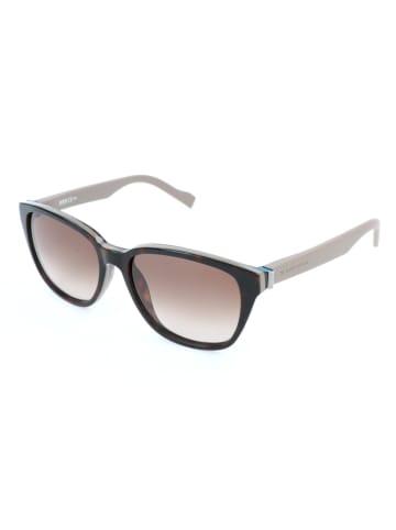 Hugo Boss Damskie okulary przeciwsłoneczne w kolorze brązowo-beżowym