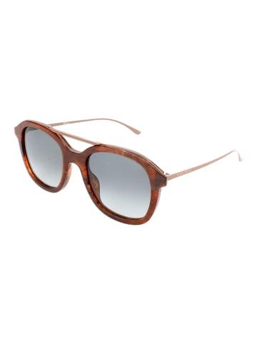 Hugo Boss Damen-Sonnenbrille in Braun/ Grau