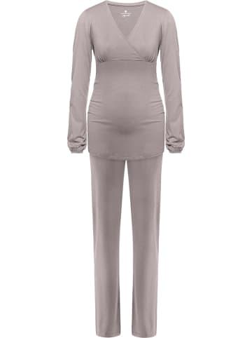 Bellybutton Piżama ciążowa w kolorze szarym