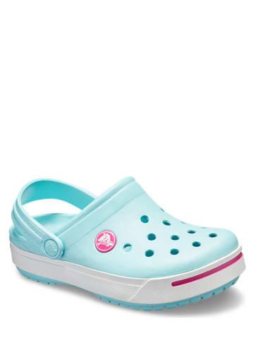 """Crocs Chodaki """"Crocband II"""" w kolorze błękitnym"""