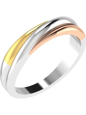 Diamant Vendôme Geel-/rosé-/witgouden ring