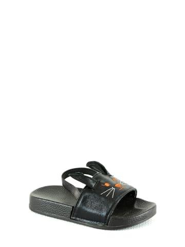 Rock & Joy Slippers zwart