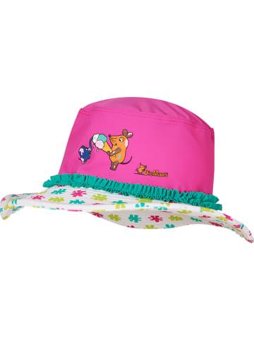 Playshoes Zonnehoed roze/meerkleurig