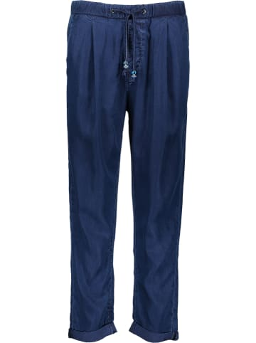 """Pepe Jeans Broek """"Donna Blue"""" - tapered fit - donkerblauw"""
