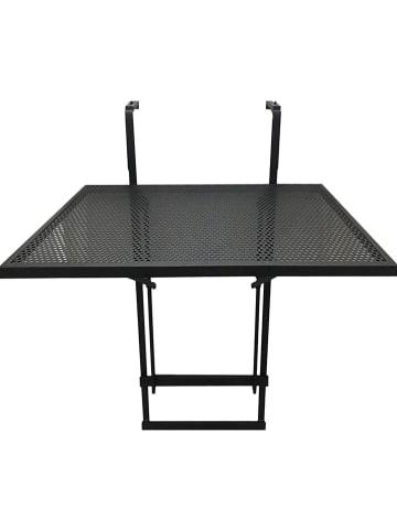 Garden Spirit Balkontafel zwart - (B)60,5 x (H)50 x (D)40,5 cm