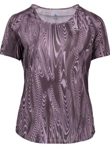 """Odlo Koszulka sportowa """"Millennium Element"""" w kolorze fioletowym"""
