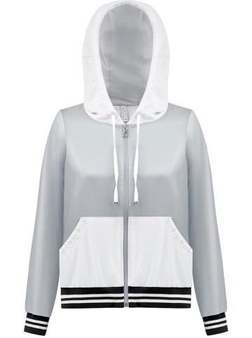 Poivre Blanc Kurtka funkcyjna w kolorze jasnoszaro-białym
