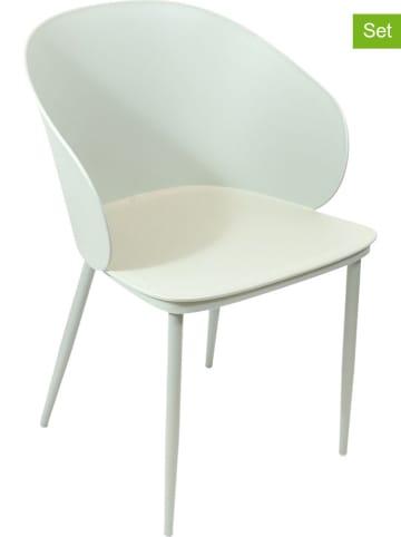 """THE HOME DECO FACTORY 4er-Set: Esszimmerstühle """"Alison"""" in Mint - (B)55,5 x (H)80,5 x (T)55 cm"""