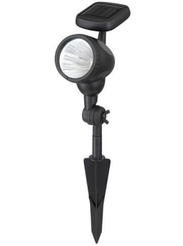 Globo lighting Ledsolartuinsteker zwart - (H)17 cm