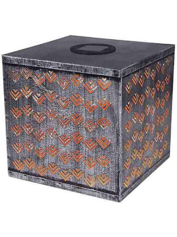 Globo lighting Ledsolarlamp zilverkleurig - (B)22,5 x (H)22,5 x (D)22,5 cm