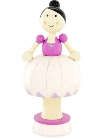 """Ulysse Pozytywka """"Pink Ballerina"""" w kolorze fioletowym - wys. 20 cm - 3+"""
