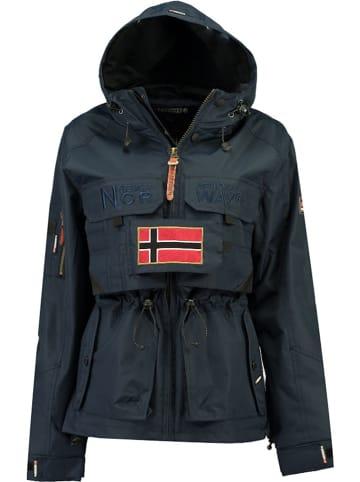 """Geographical Norway Kurtka przejściowa """"Butcheta"""" w kolorze granatowym"""