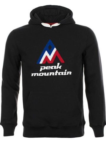 Peak Mountain Sweatshirt in Schwarz