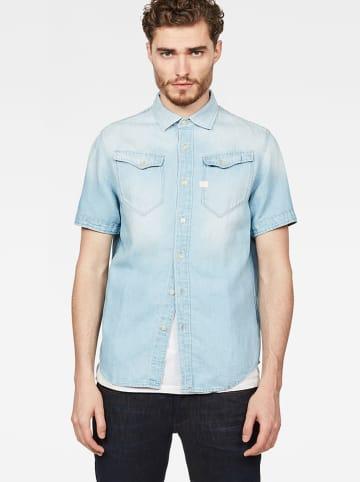 G-Star Koszula w kolorze błękitnym