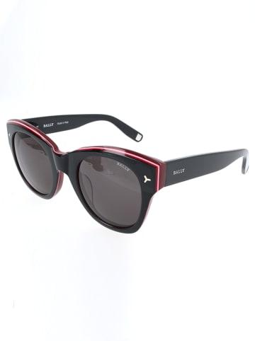 Bally Damen-Sonnenbrille in Schwarz-Rot/ Grau